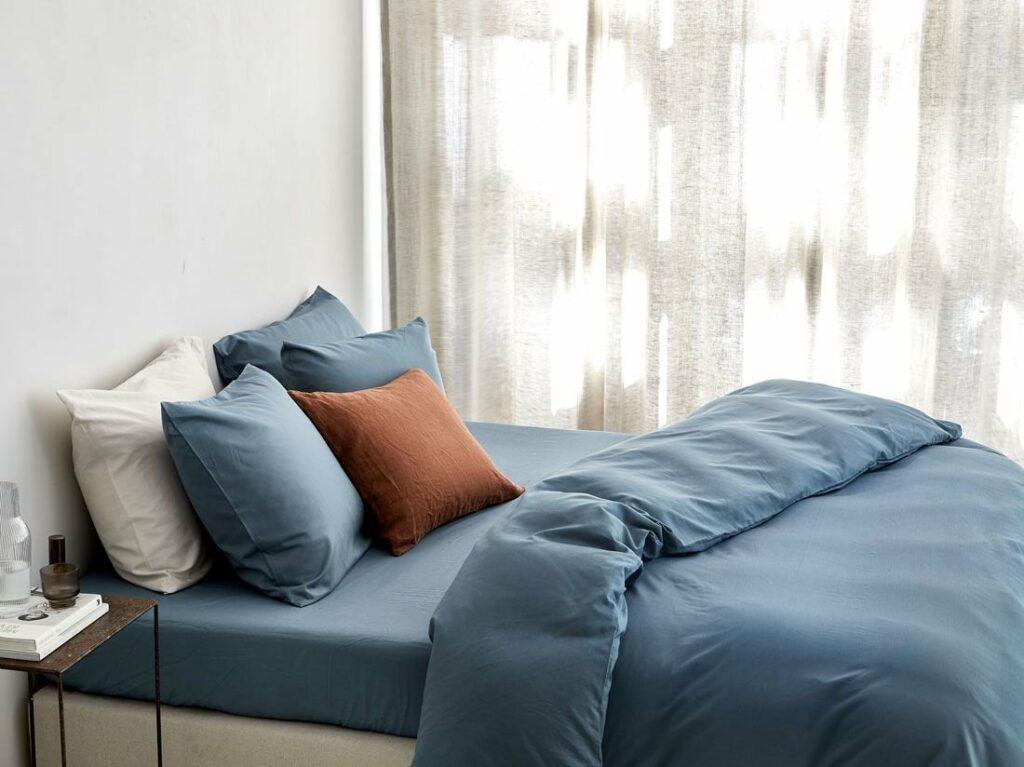 Bettwäsche Tencel Blau