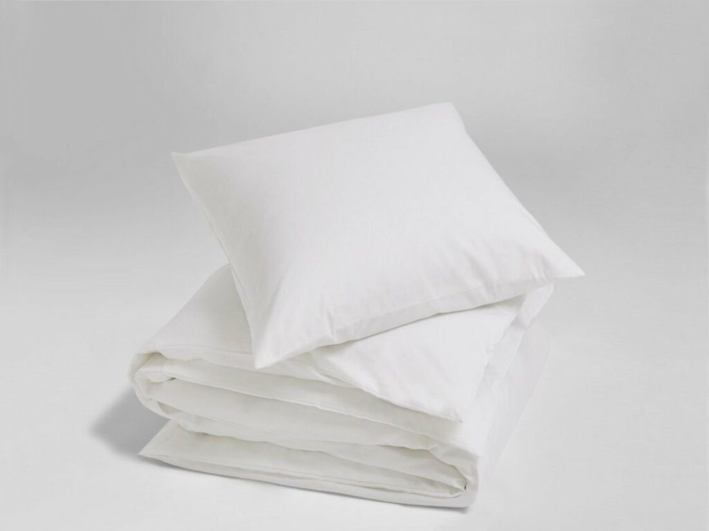 Bettwäsche Tencel Weiß